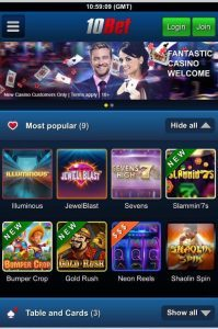 does the 10bet app offer mobile compatibility