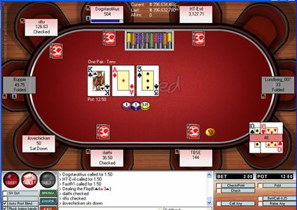 32red poker app room