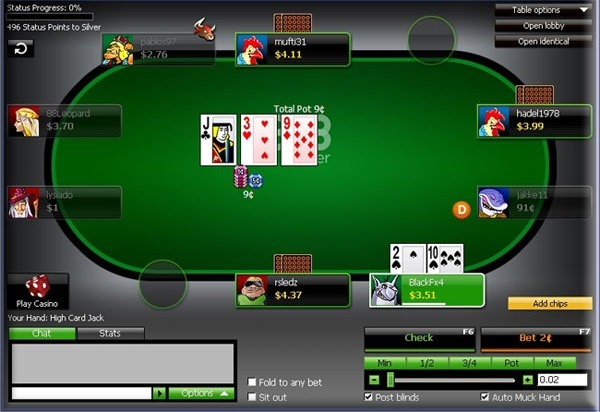 888 poker app table