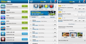 William Hill iPhone App
