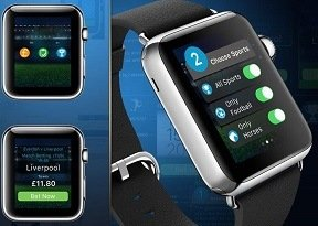 You can bet directly from from your hand with Apple watch iOS apps