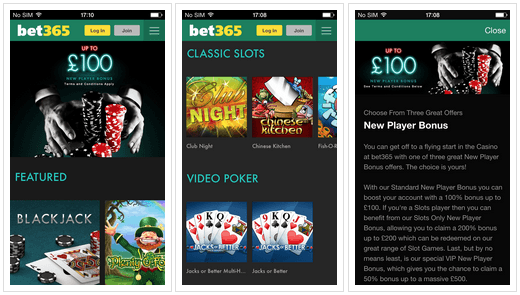Bet365 casino ios