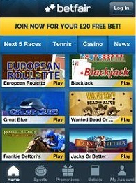is there a dedicated iPhone app for betfair