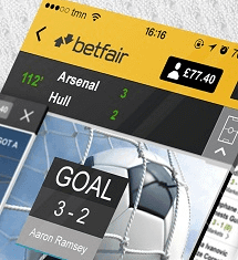 find a way to to use the betfair iphone app
