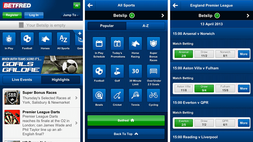 betfred android app