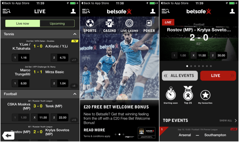 how can you install the betsafe android app for betting