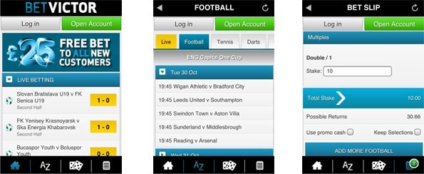 betvictor android app