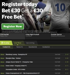 can you get improved odds with the betway bonus
