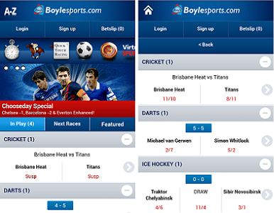 How to use the iOS Device of Boylesports to bet online?