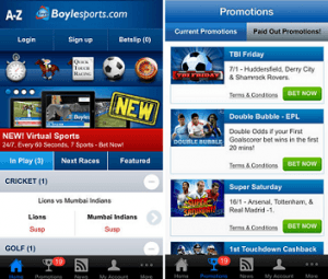 How to register at Boylesports through the Android app?