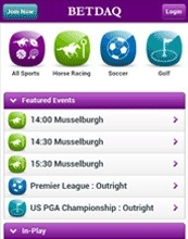 Why do you recommend the Betdaq iPhone sports app?