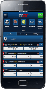 How to download the 10Bet mobile app for iOS devices?