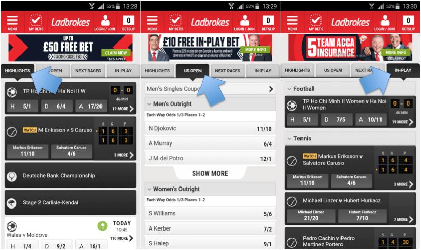 ladbrokes sports app