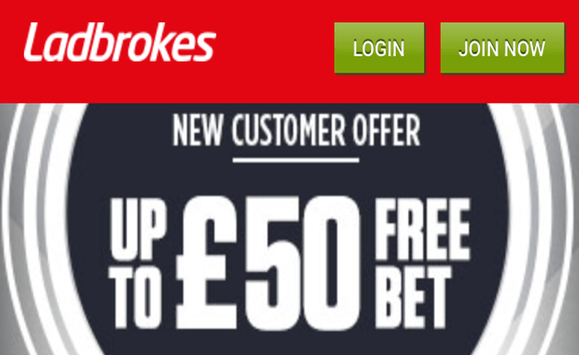 find the ladbrokes bonus on the mobile version for iphone
