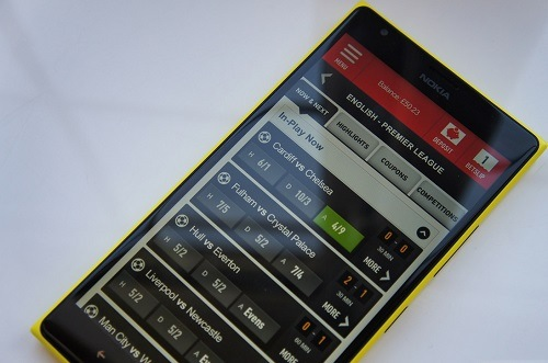 ladbrokes windows phone app
