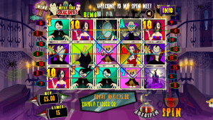 Mr. Spin Casino Released A New Mobile Slot Called Meet the Draculas