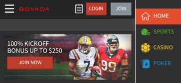How to bet online with the Bovada mobile application?