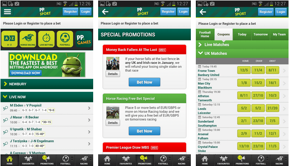 paddy power iPhone App